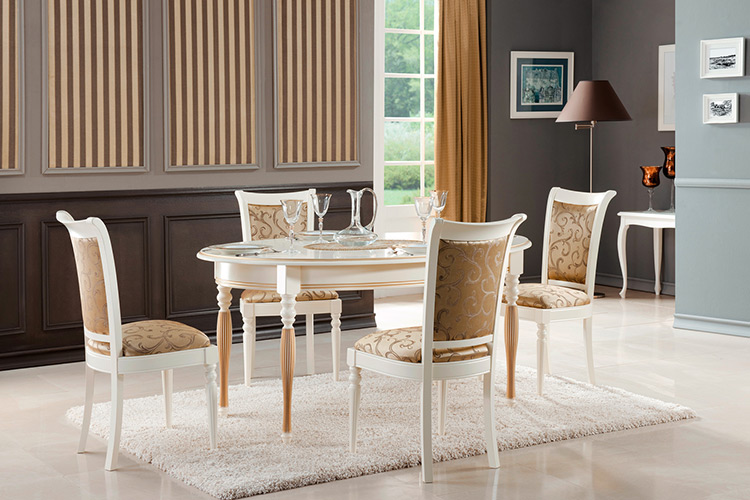 Esszimmer Stuhl Set Essgruppe Tisch Massiv Holz Echtholz 4 Stühle mit Tisch Neu