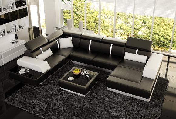 sofas und ledersofas le mans designersofa ecksofa bei jv m bel. Black Bedroom Furniture Sets. Home Design Ideas