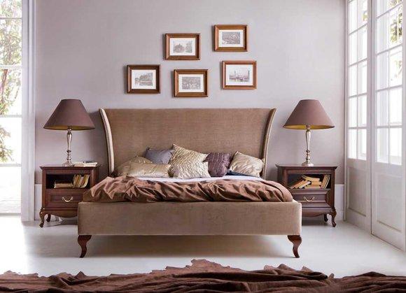 Klassisches Bett Betten Ehebett Doppelbett Holzbett Landhaus - Model CL-1