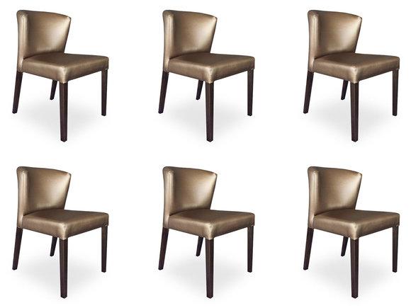 6x st hle stuhl polster design lehn garnitur sessel. Black Bedroom Furniture Sets. Home Design Ideas