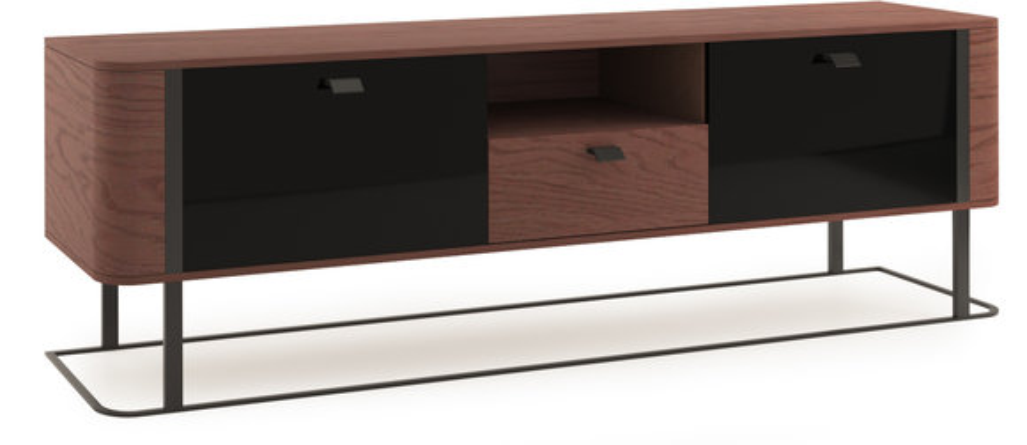 Büro Kommode Holz Schrank Holzkommode Moderne Kommoden RTV Sideboard GRANDE Neu