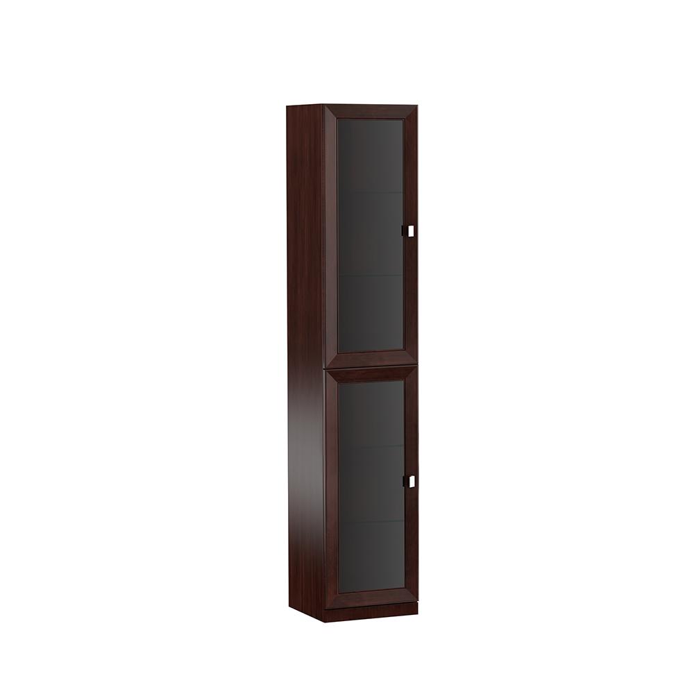 System Büro Möbel Vitrine Aktenschrank Klassischer Holz Schrank Regal Monaco M11