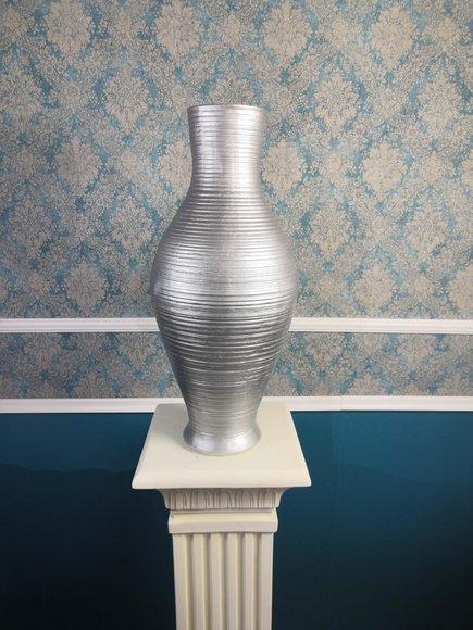 Design Vase Vasen XXL Statue Skulptur Skulpturen Dekoration 64,5cm Neu Figur