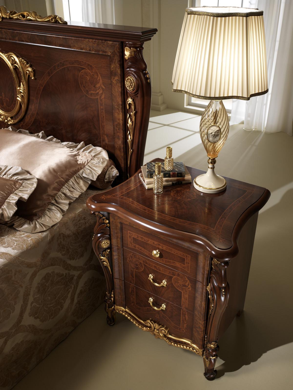 Nachttisch Konsole Nachttische Beistelltisch Schlafzimmer Design arredoclassic™