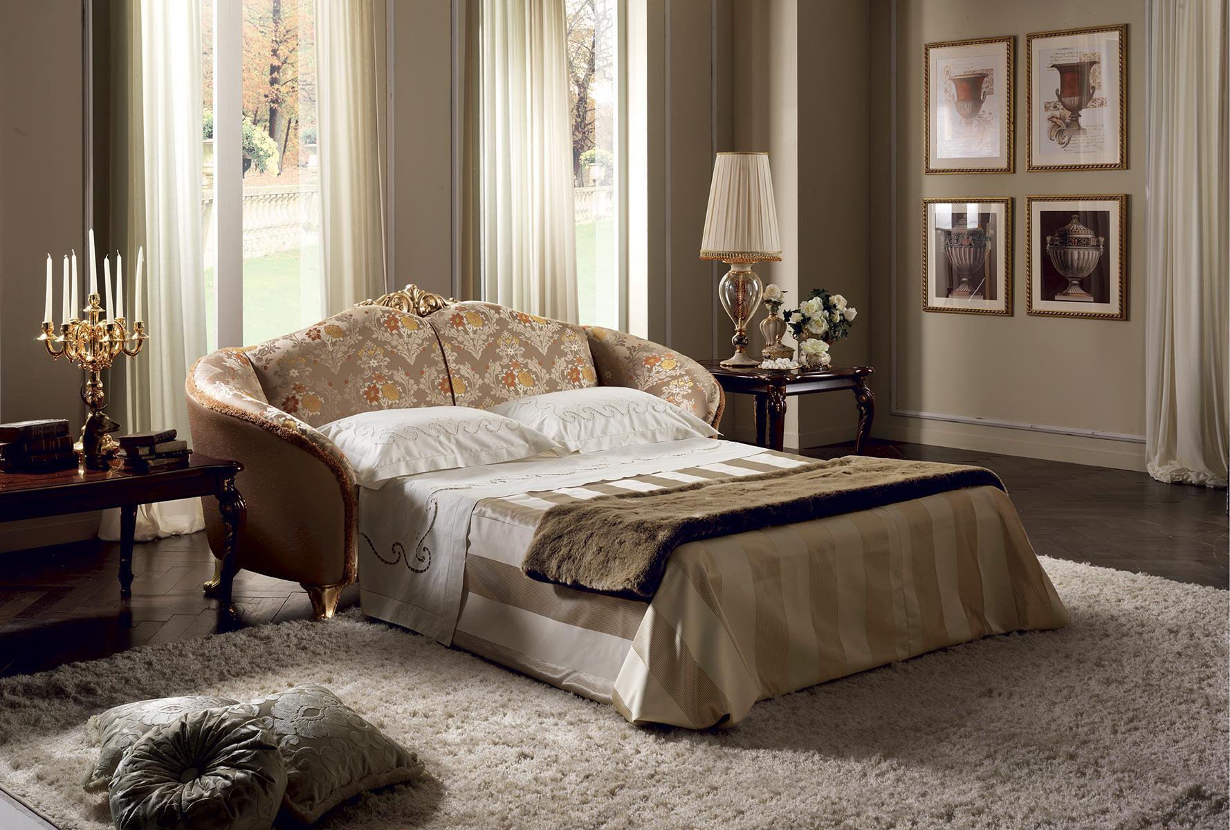 arredoclassic™ 3 Sitzer Couch Sofa Polster Couchen Schlafsofa Bettfunktion Neu
