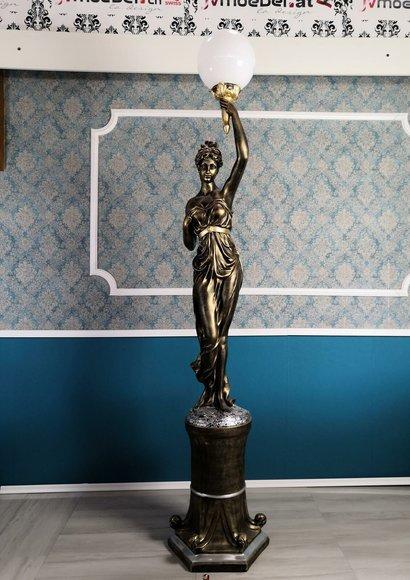 Designer XXL Big Statue Leuchte Lampe Stehlampe Stehleuchte Leuchten Lampe 227cm