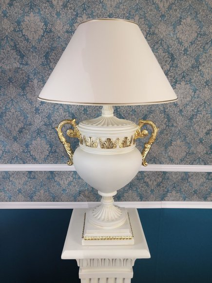 Tischlampe Vase Griffen XXL 90cm Standleuchte Lampe Tischlampen LeuchtenVasen