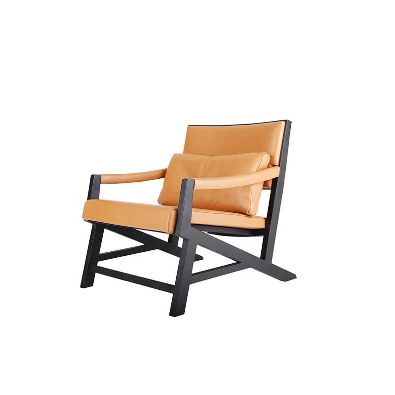 Sessel Club Lounge Designer Lehn Stuhl Sofa 1 Sitzer Fernseh Leder Polster YBC