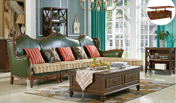 Chesterfield Antik Stil Leder Eck Sofa Couch Polster Sitz Garnitur Wohn Zimmer