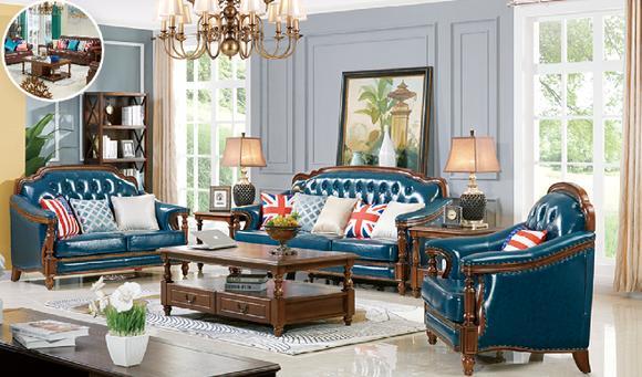 Chesterfield 1 Sitz Polster Leder Sessel Fernseh Couch Antik Stil Echtes Holz