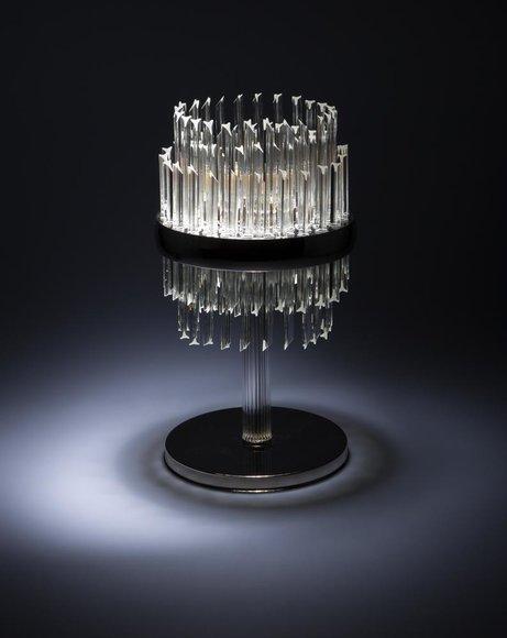 Tischleuchte Tisch Lampe Leuchten Kristall Antik Stil Leuchte Lampen Kronleuchte