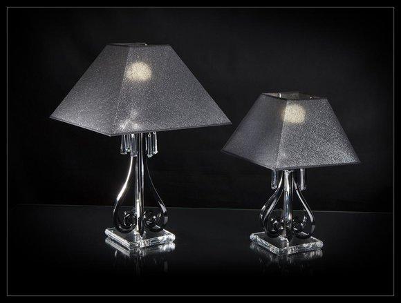 Tischleuchte Antik Stil Tisch Lampe Kristall Leuchte Lampen Leuchten Kronleuchte