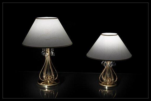 Lampe Leuchte Kristall Schreibtisch Tischlampe Elite Bohemia Steh Nachttisch Neu