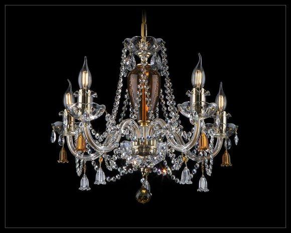 Kronleuchter Bohemia Decken Beleuchtung Deckenlampe Wohnzimmer Leuchte Lampe