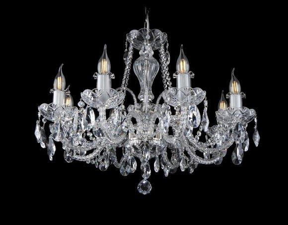 Kron Leuchter Lampe Lampen Kristall Leuchten Beleuchtung Leuchte Decken Bohemia