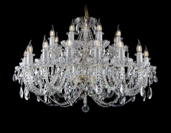 Klassischer Leuchte Lampe Decken Kronleuchter Beleuchtung Kristall Neu Bohemia
