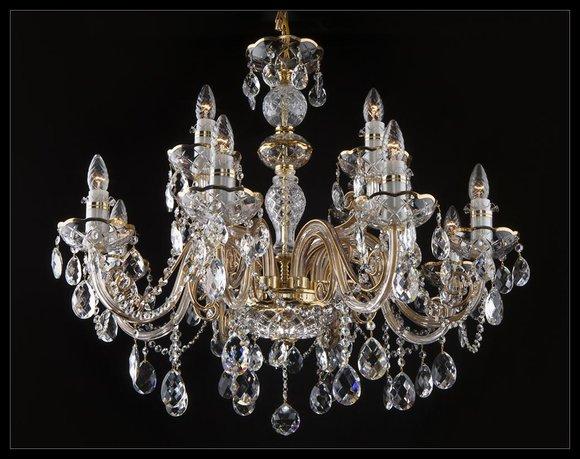 Klassischer Decken Kronleuchter Leuchte Lampe Bohemia Beleuchtung Kristall Neu