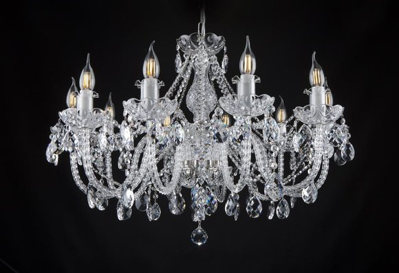 Klassischer Decken Kronleuchter Leuchte Lampe Beleuchtung Kristall Neu Bohemia