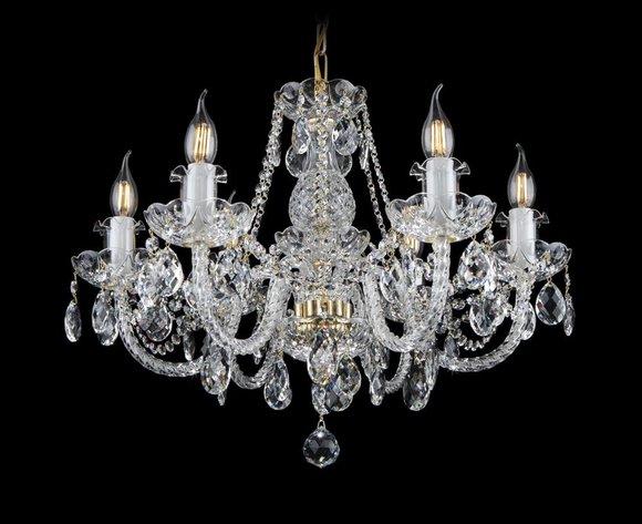 Kron Leuchter Lampe Decken Klassik Leuchte Leuchten Lampen Kristall Beleuchtung