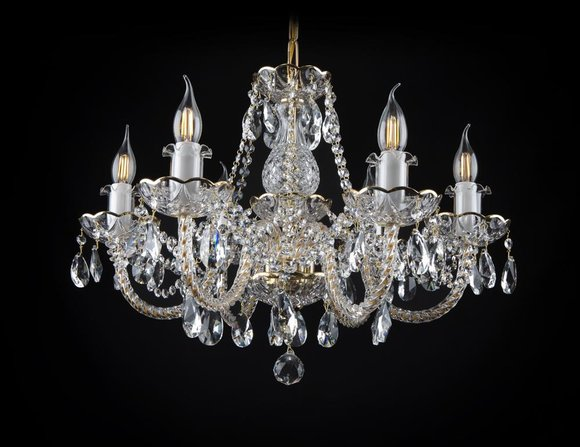 Kron Leuchter Lampe Decken Kristall Beleuchtung Klassik Leuchte Leuchten Lampen