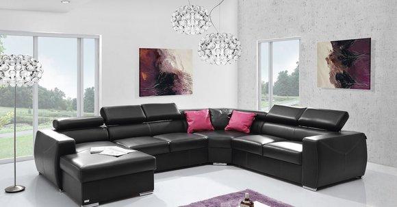 XXL Big Schlaf Sofa Couch Wohnzimmer Sitz Polster ...