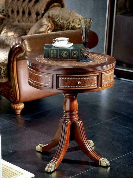 Edler Designer Klassischer Couchtisch Beistelltisch Sofa Wohnzimmer Tisch A20