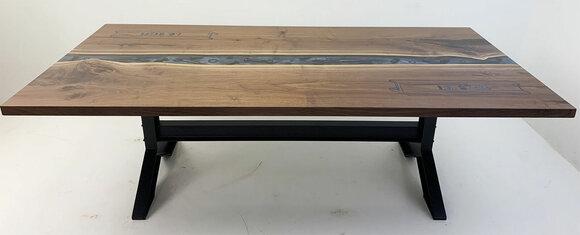 Designer Tisch Handmade Wasserfall Couchtisch Beistelltisch Couchtisch Preis 1qm