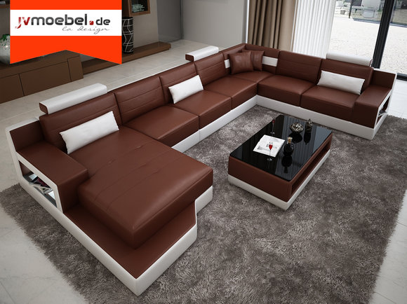 xxl sofas bilder bettfunktion design, ledersofa ecksofa wohnlandschaft xxl sofa leder, Ideen entwickeln