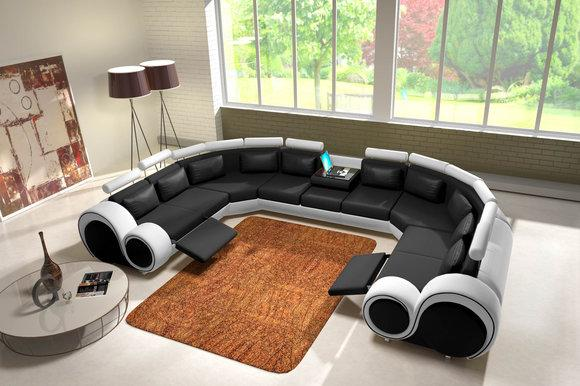 jvmoebel ledersofa couch sofa ecksofa modell berlin iv u. Black Bedroom Furniture Sets. Home Design Ideas