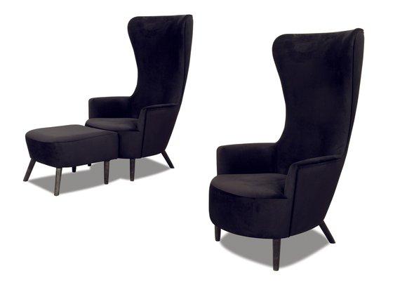 Sessel Lounge Club Cocktail Ohren Multimedia Fernseh Sessel Space Stuhl Sofa SPACEEGG
