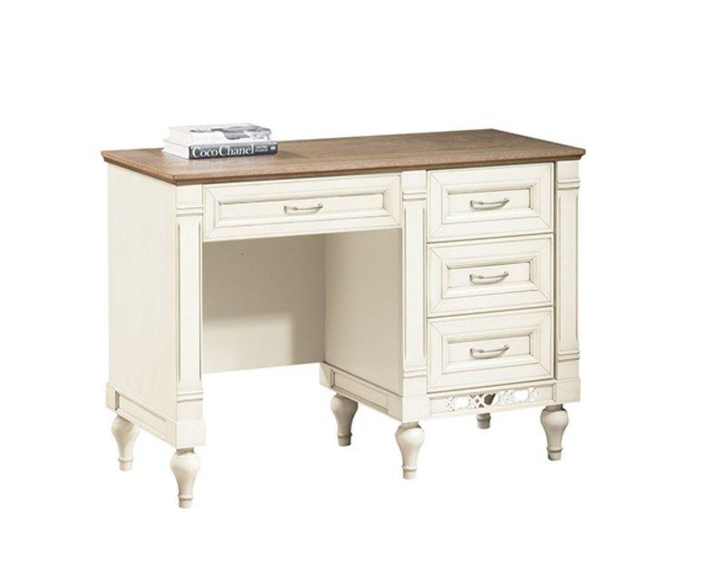Klassische Schreibtisch Büromöbel Tisch Büro Chef Schreibtische Echtholz FL-T
