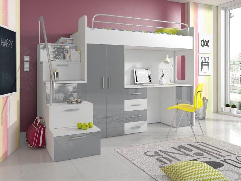 Etagenbett Mit Sofa Fantasy : Etagenbett couch schreibtisch homeautodesign