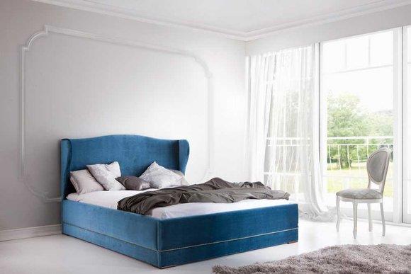 Klassisches Bett Betten Ehebett Doppelbett Holzbett Landhaus - Model CL-3
