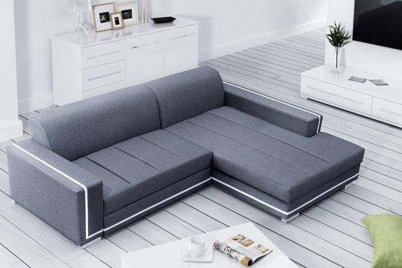 Couchgarnitur Mit Schlaffunktion Und Bettkasten Besten Bettsofa
