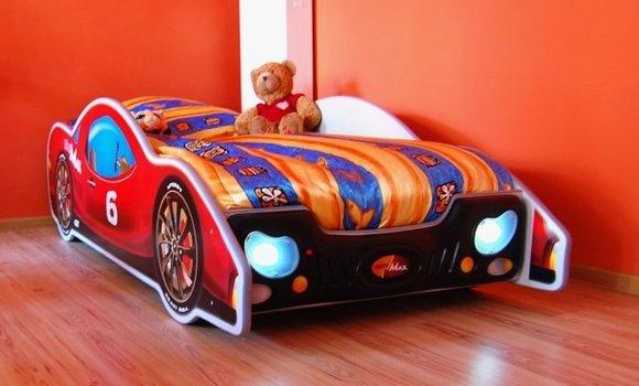 Bett mit Matratze Kinderbett Jugendbett AutoBett Betten MINI MAX