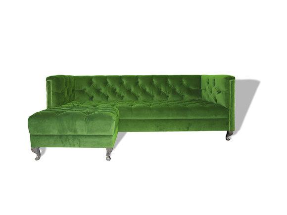 Chesterfield Sofa Polster Designer Couchen Sofas Garnitur Couch SLIII Sofa №14