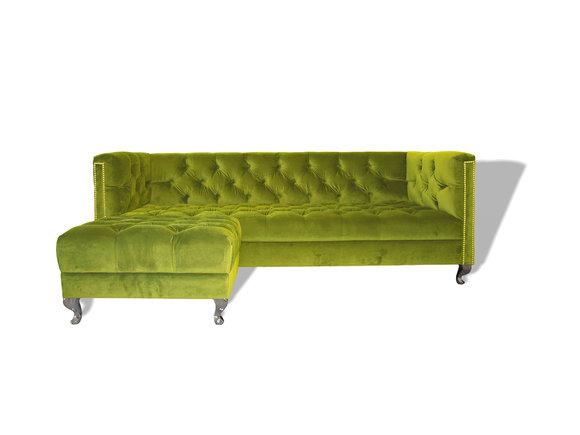 Chesterfield Sofa Polster Designer Couchen Sofas Garnitur Couch SLIII Sofa №15