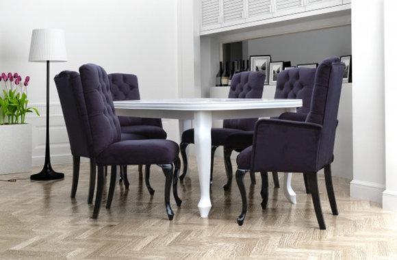 6x chesterfield stühle stuhl set polster garnitur küchen, Wohnzimmer