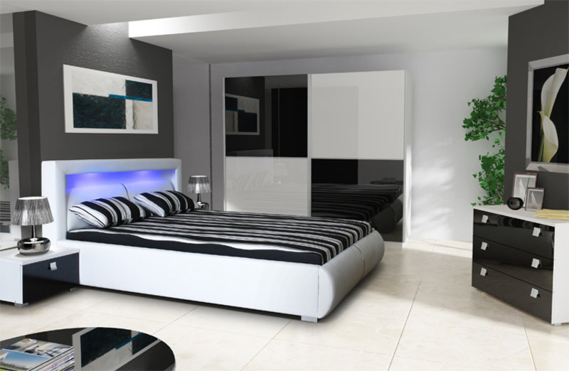 polsterbetten design bett lederbett sofort lieferbar in der schweiz. Black Bedroom Furniture Sets. Home Design Ideas