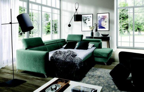Moderne Ecksofa Couch Polster Garnitur Wohnlandschaft Sofa ...